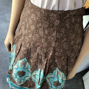 H&M Skirts - BEAUTIFUL ETHNIC PRINT PLEATED SKIRT
